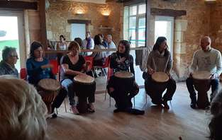 Stage de chant et percussion du 20 janvier